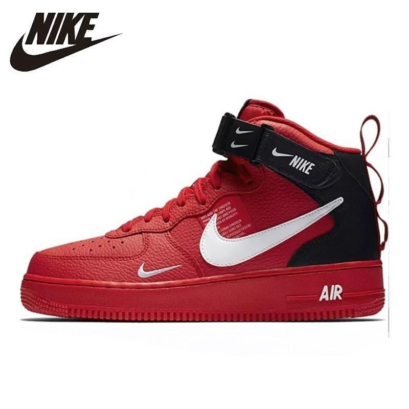 air force 1 bambino rosse