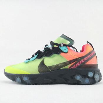 Scarpa NIKE AF1 TM Chameleon Edizione limitata. Modello Sneakers COLORE NEROCHAMELEON
