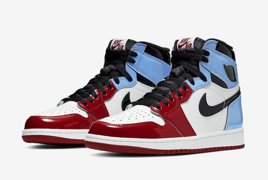 Scarpe Sneakers Nike Air Jordan 1 Retro Fearless OG