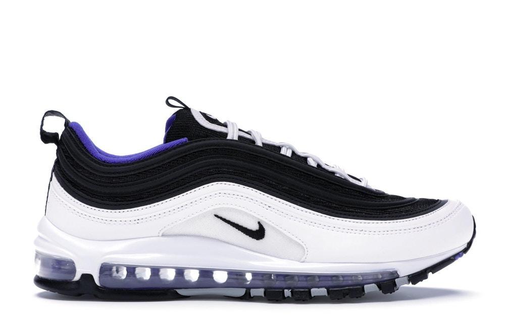Scarpe sneakers nike air max 97 viola bianco nere Persian Violet