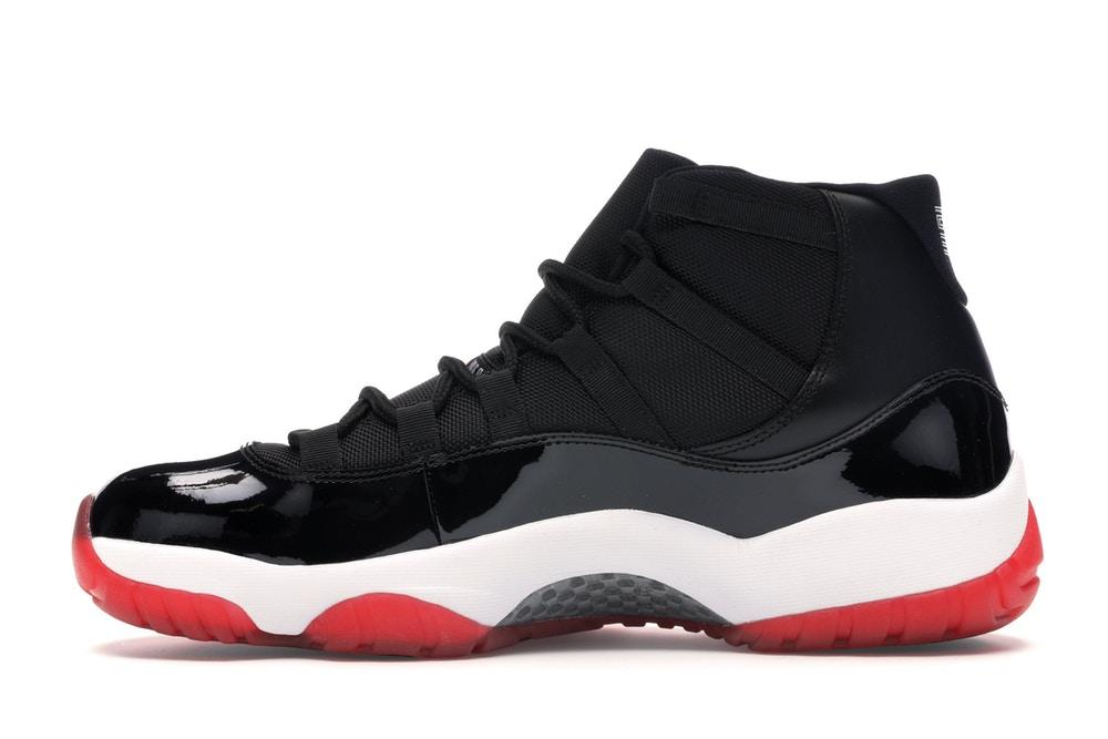Scarpe da basket sneakers Air Jordan 11 modello Playoffs 2012 nere rosse