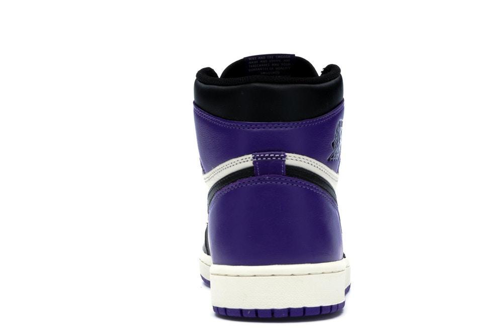 scarpe nike air jordan nere viola
