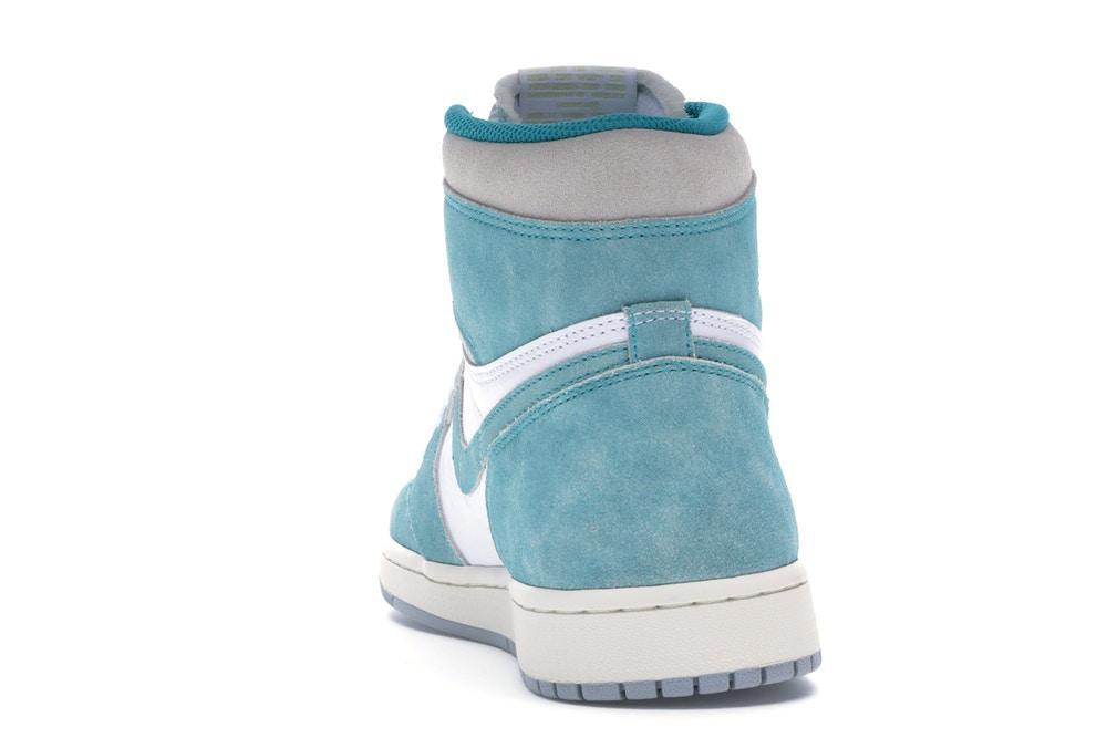 Scarpe Nike Air Jordan 1 retro modello turbo green bianca verde acqua style 555088 311