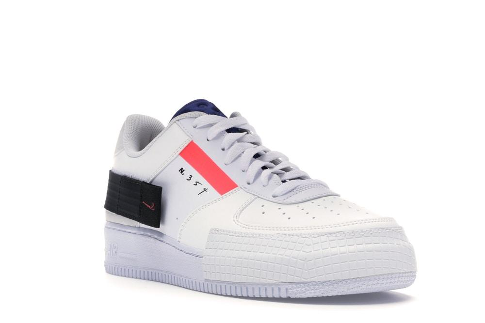 Nike Air Force 1 Type low AT7859 101 bianco Arancio viola