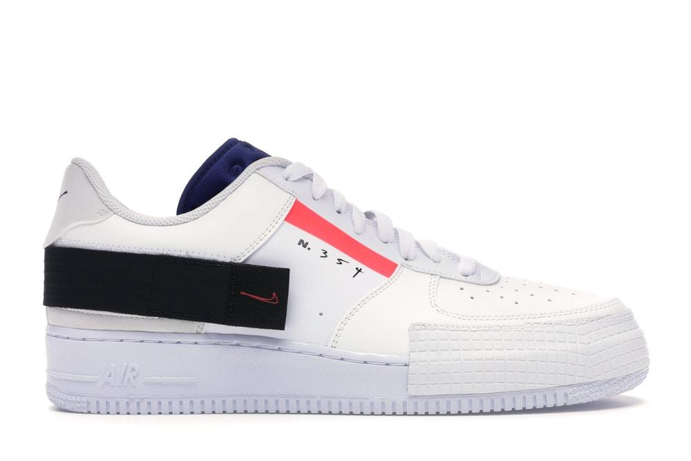 Nike Air Force 1 Type low AT7859 101 bianco Arancio viola