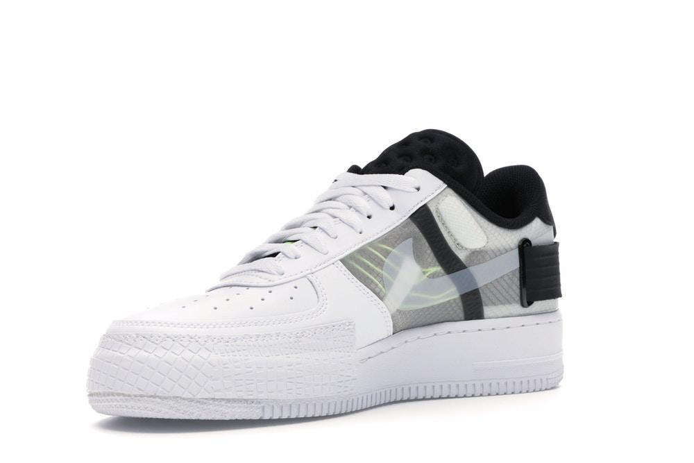 nike air force 1 bianco nero