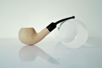 "Bent Ball in Beech ""Parmigianino"""