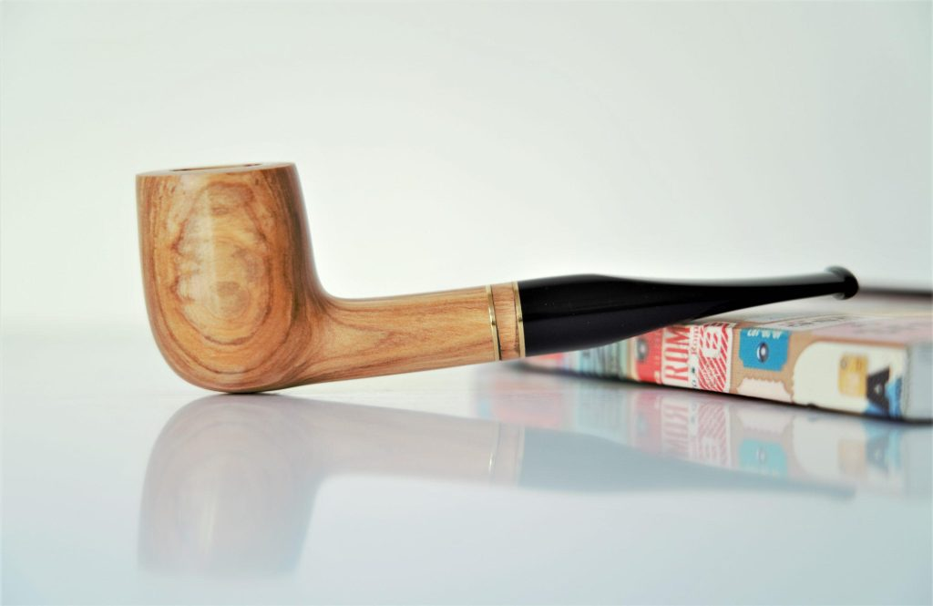 "Straight Billiard Olive ""Giorgione"""