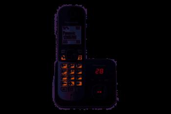 CORDLESS PANASONIC KX-TG6821JTB BLACK