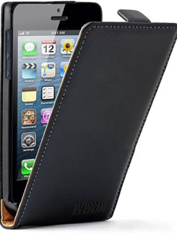 CUSTODIA PER APPLE IPHONE 5 TOP FLIP PATRICK TOP-I5N BLACK.