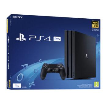 PS4 SONY CONSOLE PRO GAMMA 1TB BLACK EUROPA.