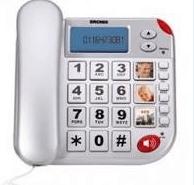 TELEFONO DA CASA BRONDI SUPERBRAVO PLUS SILVER.