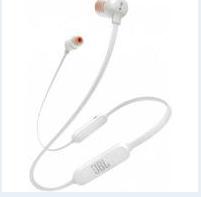 AURICOLARE BLUETOOTH IN-EAR JBL JBLT110BTWHT WHITE.