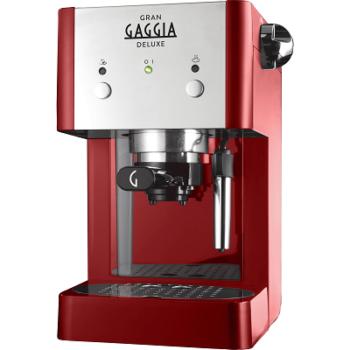 MACCHINA DA CAFFE' GAGGIA GRANGAGGIA DELUXE RI8425/22 RED.