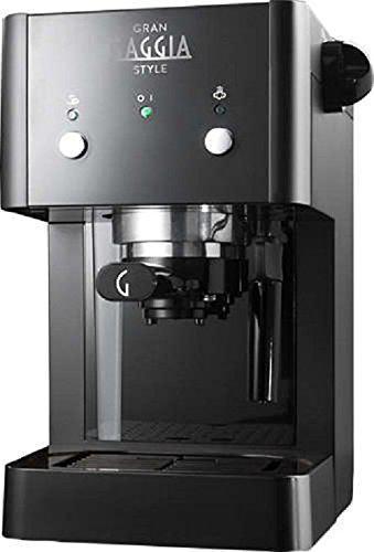 MACCHINA DA CAFFE' GAGGIA GRANGAGGIA STYLE SILVER/BLACK.