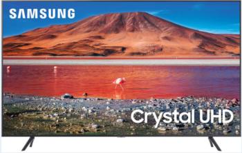 "TV LED 55"" SAMSUNG 4K UE55TU7172 SMART TV EUROPA BLACK."