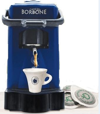 MACCHINA DA CAFFE' DIDIESSE DIDI' BORBONE PACK CON 30 CIALDE BLU