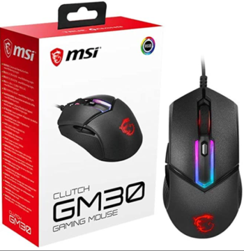 MOUSE OTTICO USB GAMING MSI CLUTCH GM08