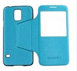 CUSTODIA PER SAMSUNG GALAXY S5 G900 CELLULAR LINE BACKBOOKGALAXYS5BL BLUE.