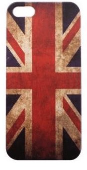 COVER PER APPLE IPHONE 5S HOTDUCK HD-COVER-010 BANDIERA UK.