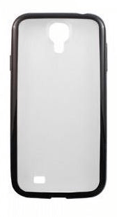 COVER PER SAMSUNG GALAXY S4 I9505 HOTDUCK HD-COVER-030 SATINATA BLACK.