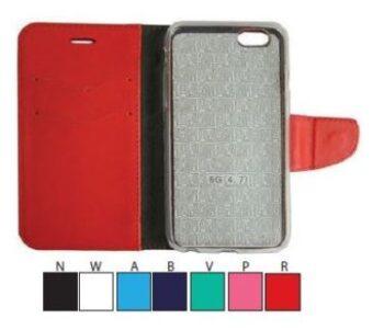 CUSTODIA PER SAMSUNG GALAXY S6 EDGE G925 PATRICK FLIP EXCE-S6EDGER RED.