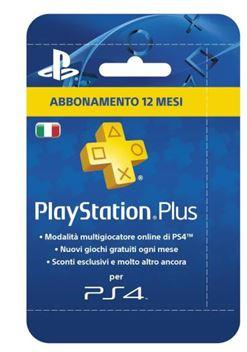 SONY PS4 PLUS CARD 365GG ABBONAMENTO.