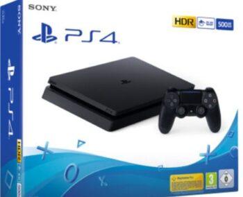 PS4 SONY CONSOLE F CHASSIS 500GB BLACK ITALIA