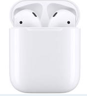 AURICOLARE BLUETOOTH AIRPODS 2 CON CHARGING CASE APPLE MV7N2TY/A