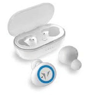 AURICOLARE BLUETOOTH TECHMADE TM-HP019-WH WHITE