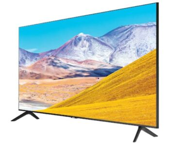 "TV LED 82"" SAMSUNG 4K UE82TU8072 SMART TV EUROPA BLACK."