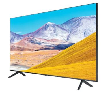 "TV LED 75"" SAMSUNG 4K UE75TU8072 SMART TV EUROPA BLACK."