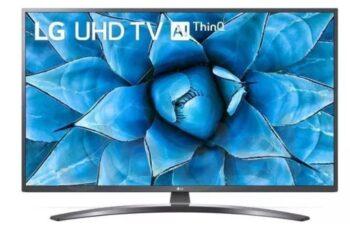 """TV LED 65"""" LG 4K 65UN74003 SMART TV EUROPA BLACK."""