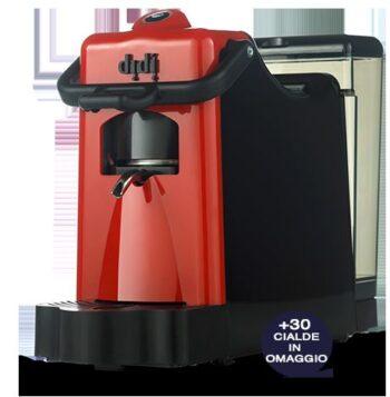 MACCHINA DA CAFFE' DIDIESSE DIDI' BORBONE PACK CON 30 CIALDE RED.