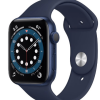 SMARTWATCH APPLE WATCH SERIES 6 44MM GPS ALLUMINIO AZZURRO CON CINTURINO SPORT DEEP NAVY M00J3TY/A.