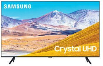 "TV LED 85"" SAMSUNG 4K UE85TU8072 SMART TV EUROPA BLACK."