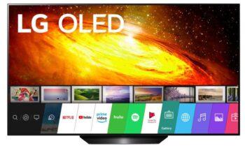 "TV OLED 55"" LG 4K  EUROPA BLACK"
