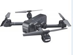 DRONE QUADRICOTTERO RADIOCOMANDATO A DISTANZA CON CAMERA HD ITEKK ICARO NERO ITALIA.