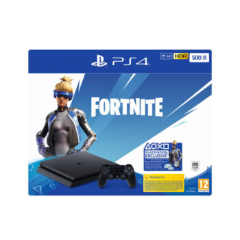 PS4 SONY CONSOLE F CHASSIS 500GB BLACK IT + FORTNITE VCH (2019)
