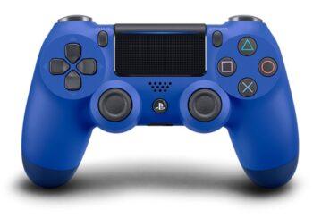 GAMEPAD PS4 SONY WIRELESS DUAL SHOCK V2 WAVE BLUE 9893851