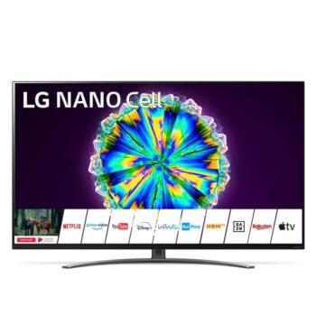 """TV NANOCELL 55"""" LG 4K 55NANO813NA SMART TV EUROPA BLACK"""