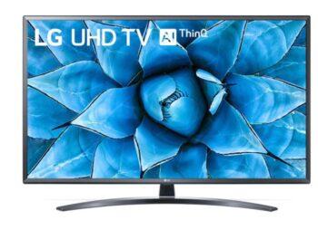 """TV LED 49"""" LG 4K 49UN74003 SMART TV EUROPA BLACK"""