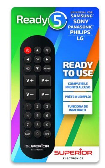 TELECOMANDO UNIVERSALE PER TV SUPERIOR READY5.