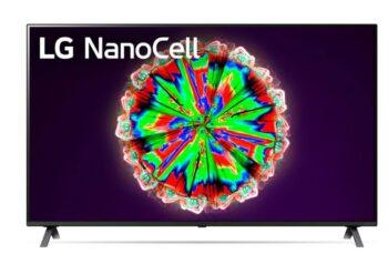 """TV NANOCELL 55"""" LG 4K 55NANO803NA SMART TV EUROPA BLACK."""