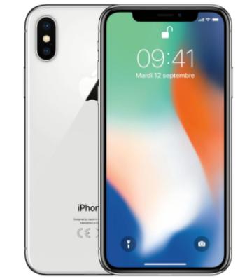 CELLULARE RICONDIZIONATO APPLE IPHONE X 64GB SILVER GRADO A