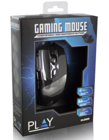 MOUSE OTTICO USB GAMING EWENT PL3300