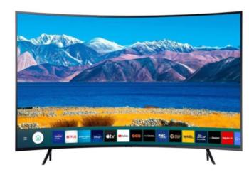 "TV LED 55"" SAMSUNG 4K CURVE UE55TU8372 EUROPA BLACK"