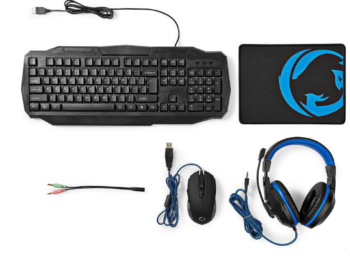 KIT GAMING 4 IN 1 NEDIS GCK41100BKND
