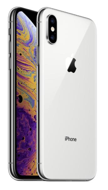 CELLULARE RICONDIZIONATO APPLE IPHONE XS 64GB SILVER GRADO A.