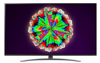 "TV NANOCELL 65"" LG 4K 65NANO813 SMART TV EUROPA BLACK"